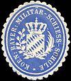 Siegelmarke Koeniglich Bayerische Militär - Schiess - Schule W0223946.jpg