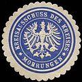 Siegelmarke Kreisausschuss des Kreises Mohrungen W0214094.jpg
