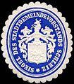Siegelmarke Siegel des Stadtgemeindevorstands Schleiz W0290102.jpg
