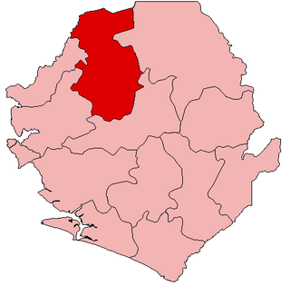 Bombali District Place in Northern Province, Sierra Leone