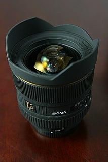 Sigma 12-24mm f/4.5-5.6 lens
