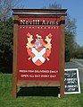 Sign for the Nevill Arms, New End (geograph 5348066).jpg