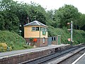 Signal Box, Medstead and Four Marks Station - geograph.org.uk - 56851.jpg