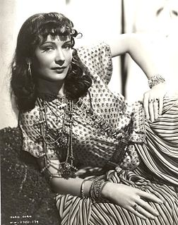 Sigrid Gurie American actress