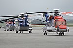 Sikorsky S-92s on the ramp at Sola. 12-6-2017 (45074726192).jpg