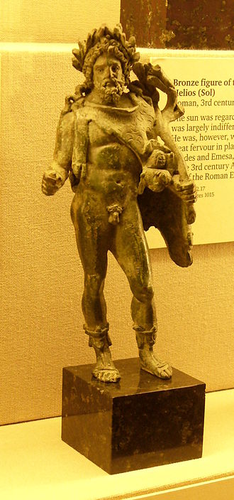Silvanus (mythology) - Bronze statue of Silvanus, said to be from Nocera in southern Italy.
