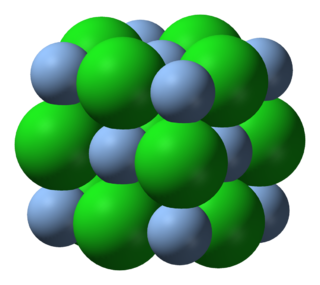 Silver chloride chemical compound