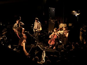 Thee Silver Mt. Zion Memorial Orchestra - Thee Silver Mt. Zion Memorial Orchestra and Tra-La-La Band in April 2007