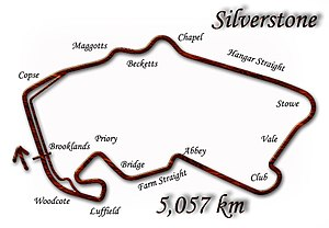 1994 British Grand Prix - Silverstone Circuit (as modified in 1994)