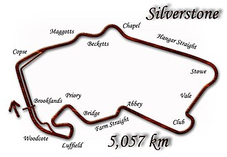 1995 British Grand Prix - Silverstone Circuit (as modified in 1994)
