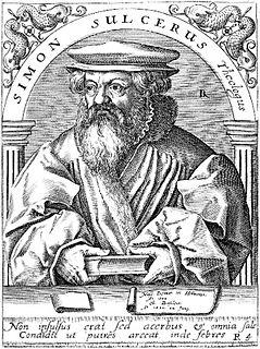 Simon Sulzer Swiss theologian
