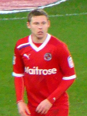 Simon Church - Church playing for Reading in 2012