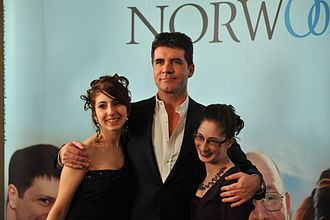 Norwood (charity) - Simon Cowell with a Norwood service user at the annual dinner 2010