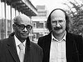 Sipho Sepamla en Antonio Skarmeta (1981).jpg