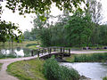 Skawina-mostek na starej Skawince.jpg