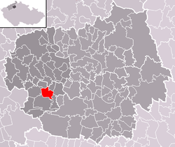 Location of Slatina