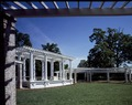 Slatted wooden structure at Arlington National Cemetery, Arlington, Virginia LCCN2011633009.tif