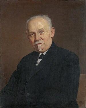 Slobodan Jovanović - Portrait of Slobodan Jovanović  by Uroš Predić, 1931