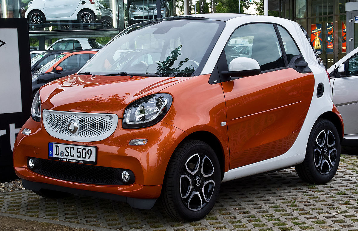 Smart fortwo wikipedia for Mercedes benz smart fortwo