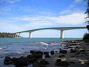 Snake island bridge Sihanoukville October 2014