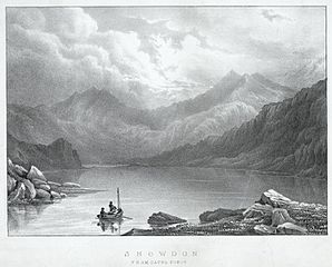 Snowdon, from Capel Curig
