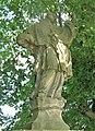 Socha svatého Jana Nepomuckého poblíž domu 714 ve Starých Křečanech (Q104983695) 02.jpg