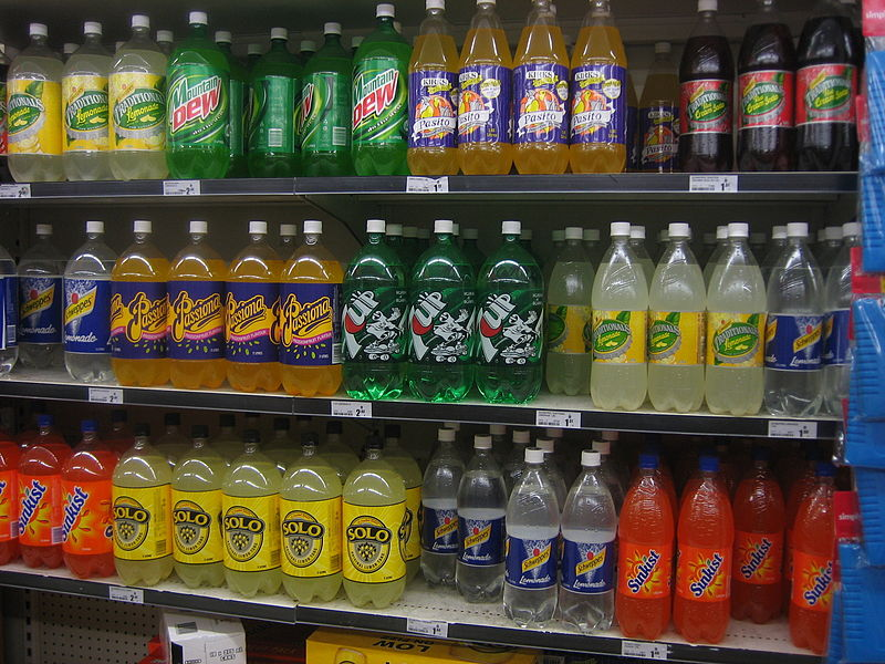 File:Soft drink shelf.JPG