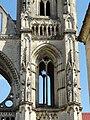 Soissons (02), abbaye Saint-Jean-des-Vignes, abbatiale, tour sud, 1er étage, vue depuis l'ouest.jpg