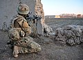 Soldier with 1st Battalion the Yorkshire Regiment on Patrol in Afghanistan MOD 45153530.jpg