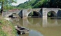Solignac - Pont roman - Ensemble.JPG