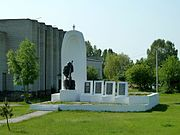 Solovychi Turiyskyi Volynska-monument to the countrymen-general view.jpg