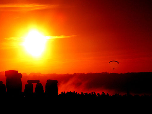 Solstice Dawn at Stonehenge