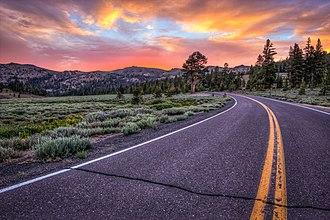 California State Route 108 - California 108 near Sonora Pass