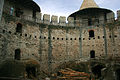 Soroca Fort, Inside in Renovation, The Court..JPG