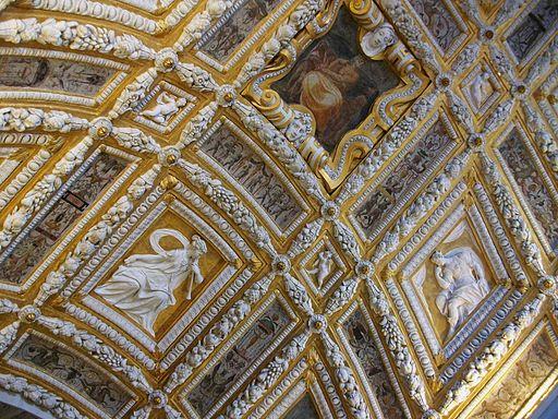 Sostre de l'Scala d'Oro del palau Ducal de Venecia