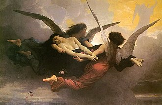 Soul - Soul carried to Heaven by William Bouguereau