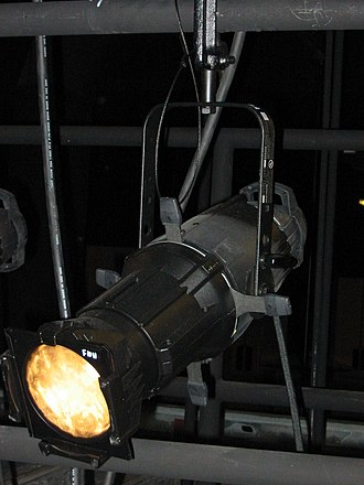 Ellipsoidal reflector spotlight - Source Four ERS