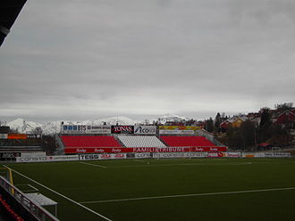 Alfheim Stadion - Image: South Stand