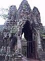 South gate of Angkor Thom outside.jpg