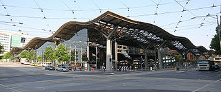 Southern Cross railway station railway station in Docklands, Melbourne, Victoria, Australia