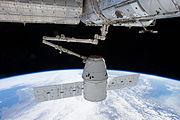 SpX CRS-2 berthing
