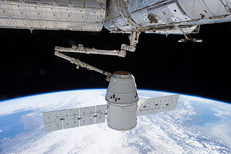 Commercial Resupply Services - In March 2013, a SpaceX Dragon is berthed to the ISS