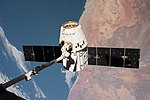SpaceX CRS-14 Dragon released by Canadarm2.jpg
