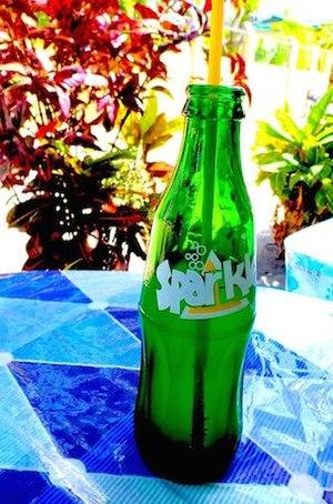 Sparkle (drink) - Bottle of Sparkle