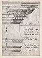 Speculum Romanae Magnificentiae- Entablature from the Temple of Castor and Pollux, Rome MET DP870173.jpg