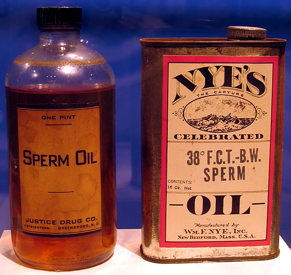Oil Made from Sperm Whales