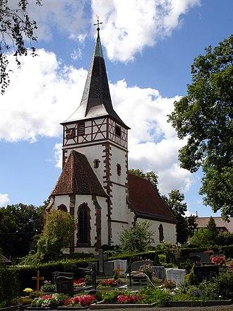 Ditzingen - Speyrer Church