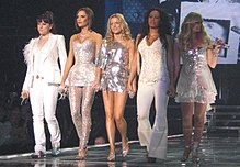 Spice Girls în concert la Köln în Germania pe data de 20 decembrie 2007.