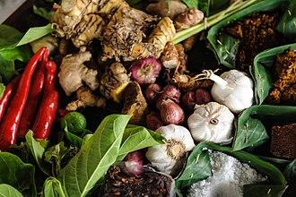 Bumbu (seasoning) - Various Indonesian spices