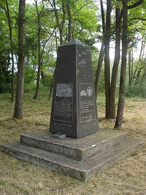 Novi Zrin - Image: Spomenik Novom Zrinu (Croatia) jugozapad